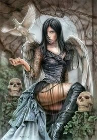 Gothic Angel Wings