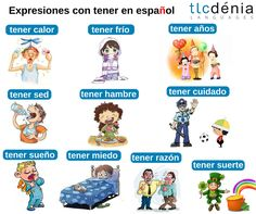 Image result for expresiones con tener