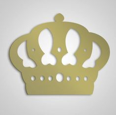Coroa em Mdf crú