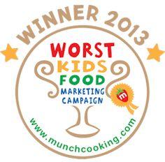 Best Worst Kids Food Marketing goes to McDonald's Happy Meals www.munchawards.co.nz