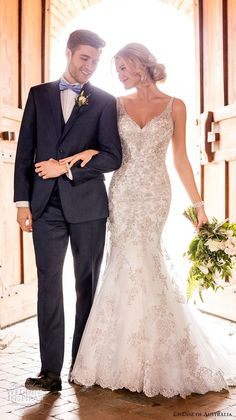 Essense of Australia Wedding Dresses - Search our photo gallery for pictures of wedding dresses by Essense of Australia. Find the perfect dress with recent Essense of Australia photos. Essense Of Australia Wedding Dresses, Western Wedding Dresses, Bridal Dresses, Wedding Gowns, Wedding Tips, Wedding Venues, 2017 Wedding, Wedding Blog, 2017 Bridal