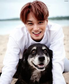 Kai - 160926 Second official photobook 'Dear Happiness' - [SCAN][HQ] Credit: 올리브.