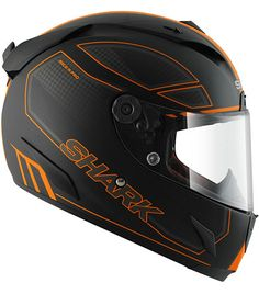 Shark Race-R Pro Chaz black/orange
