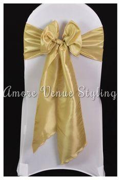 #wedding #sash #taffeta #antique #gold #bow
