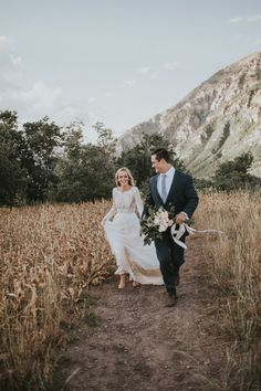 The sweetest mountain first look | Image by Autumn Nicole Photography