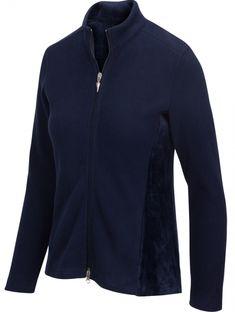 Greg Norman Ladies & Plus Size Full Zip Fleece Long Sleeve Golf Jackets - ESSENTIALS (Assorted Color