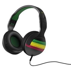 Skullcandy Hesh 2.0 Headphones with Detachable Cable - Rasta This is what I got Junie for his birthday.