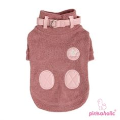 Giggles Turtle Neck Sweater in Indian Pink
