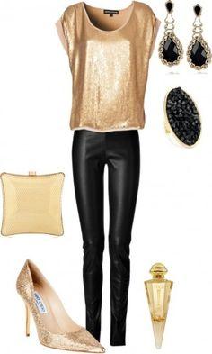 Oro e pelle nera
