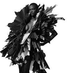 I Heart Issey Miyake. I Would Rock This As My Everyday Attire. ;)