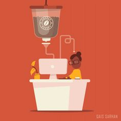 Coffee Machine - Animated GIF on Behance