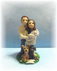 2013 Custom Family Christmas Ornament by lynnslittlecreations, $55.00