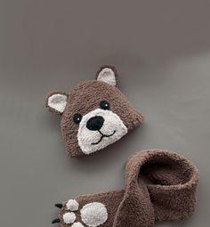 Modèle bonnet ours bébé - Modèles Layette - Phildar