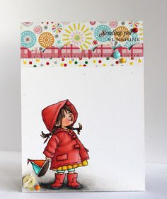 Alice Wertz: Alice's {Little} Wonderland – Waiting for Rain - 3/11/13. (Pin#1: Mo Manning. Pin+: Children: Girls; Umbrellas).