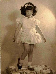 Antique photograph adorable little girl in pretty dress  Selling on ebay: