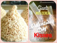 Rice Cereal Marshmellow Kisses!