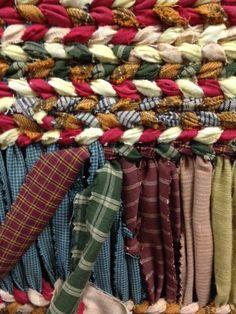 Плетеные коврики. – 24 фотографии