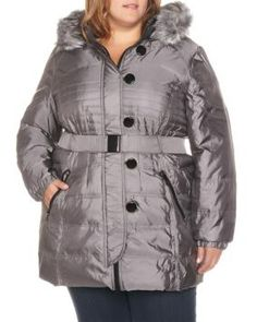 Iridescent Down Filled Jacket