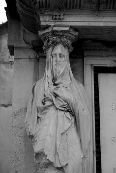 Veiled Statue, Zentralfriedhof by bill.d, via Flickr