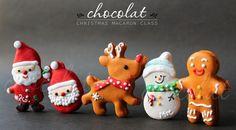 Christmas Macaron | Chocolat: