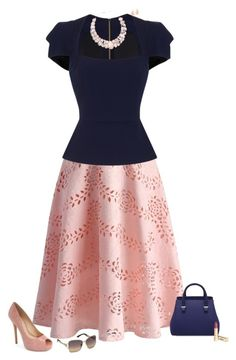 """""""Pretty lady"""" by julietajj on Polyvore featuring Vince Camuto, Chicwish, Roland…"""