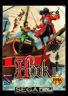 Hook Sega Genesis Game