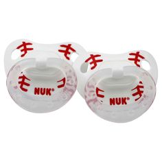 Bambino Balls now has Baseball Pacifiers (2 Pack) for only $4.95. Spring training starts in less than 2 months!