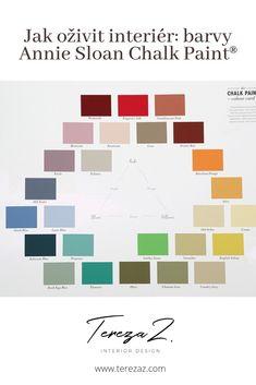 Nový článek na blogu o křídových barvách Annie Sloan Chalk Paint ®.