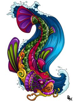 90 Mejores Imágenes De Koi Fish Japanese Art Koi Art Y Draw