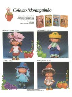 catálogos Boneca Moranguinho Estrela Toy Catalogs, Strawberry Shortcake Doll, American Greetings, Candyland, Vintage Dolls, Vintage Advertisements, Tweety, Childhood Memories, Nostalgia