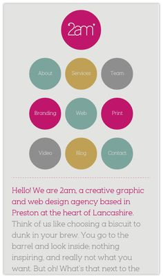 Web Design for the phone #inspiration