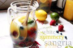 white summer sangria