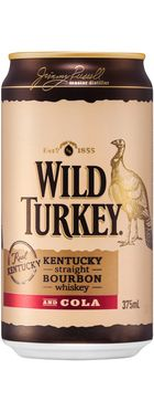 Wild Turkey Bourbon & Cola Can