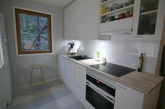Keittiö, hell no! Kitchen Cabinets, Table, Lily, Furniture, Home Decor, Decoration Home, Room Decor, Cabinets, Tables