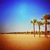 Playa en Roquetas de Mar, Andalucía