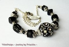 Rock chic necklace by TillaDesigns on Etsy, $29.95