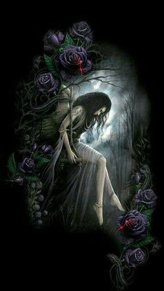 Tatto Gothic Angel, Gothic Fairy, Imagenes Dark, Gothic Images, Gothic Wallpaper, Dark Wallpaper, Gothic Fantasy Art, Dark Gothic Art, Beautiful Dark Art