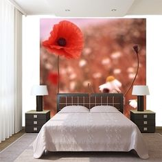 poppy field 2 MaMurale.com