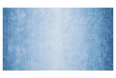Ombre Bernetta Rug, Blue ($383 - 11'6 x 8'6)
