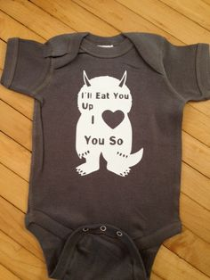 Cute Where the Wild Things Are I'll Eat You Up I by StellasShoppe, $13.00