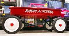 How to Restore a Radio Flyer Wagon - exactly what I needed to know so I can fix up Brandon and Darrin's old wagon for the wedding!