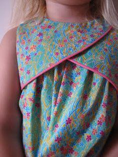 Woohoo!: nieuw patroontje getest: tulip dress
