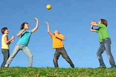 Team Building Activities For Teens - Three Ball Soccer