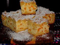 """""""Co w kredensie piszczy"""": Puszysty Sernik z brzoskwiniami Cheesecakes, No Bake Cake, Cornbread, Sweet Tooth, Pie, Cooking, Ethnic Recipes, Food, Bakken"""