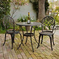 Best Cast Aluminum Outdoor Patio Bistro Furniture Sets Reviews