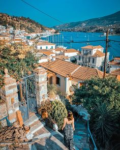 This beautiful little island is like a well-kept secret 🔒 Poros was love at first sight. Since we arrived here we felt like this was… Little Island, Ely, Love At First Sight, Travel Couple, Places To Visit, Europe, Wellness, Beautiful, Instagram