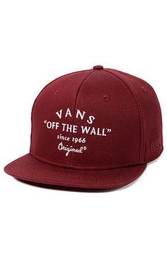 Vivid Roots  Hats · Vans Hat Bogard Brick Maroon Vans Hats 4a1fa54960f5
