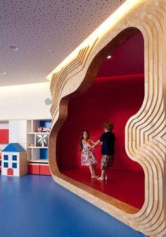 Childrens Playground Theater room Childrens Playground Modern Interior Decoration Citadel Hotel
