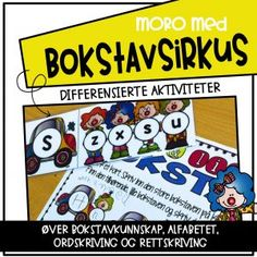 Bokstavsirkus Teaching, Poster, Learning, Education