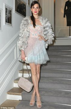Elettra Wiedemann - Dior Haute-Couture show in Paris 2012